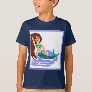 Kids Mermaid Fashion T-Shirt
