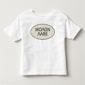 Kids Molon Labe Toddler T-shirt