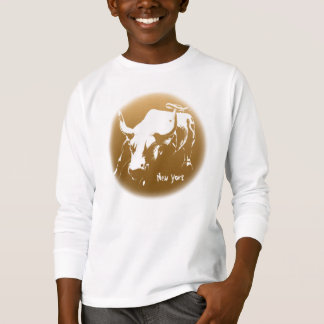 Kid's New York Shirt NYC Bull Souvenir Shirt