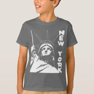 Kid's New York T-shirt Statue of Liberty NYC Shirt
