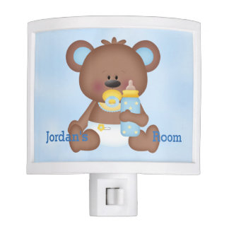 Kid's Night Lite Cute Baby Teddy Bear