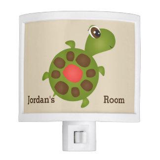 Kid's Night Lite Cute Happy Tordus Turtle