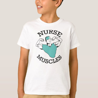 Kids' Nurse Muscles shirt! T-Shirt