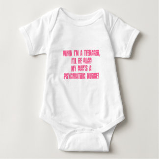 Kids of Psych. Nurses-Humor Baby Bodysuit
