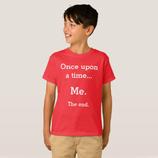"Kids ""Once upon a time"" t-shirt"