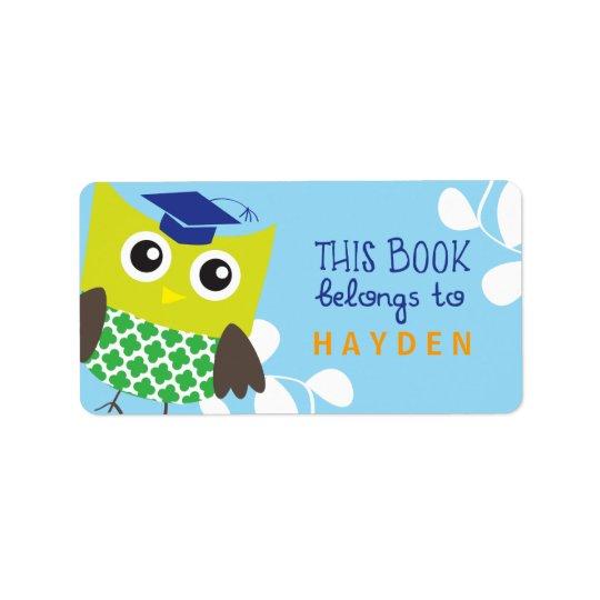 Kids Owl Bookplates