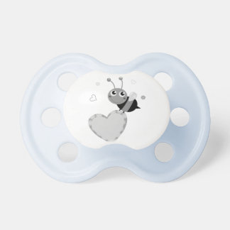 Kids pacifier with flying Bee