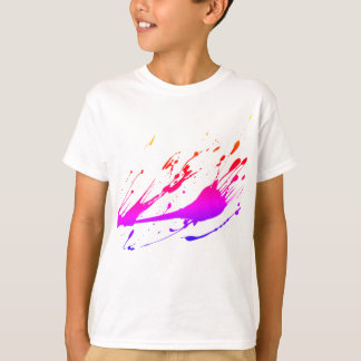 Kids Paint Splatter Tshirt
