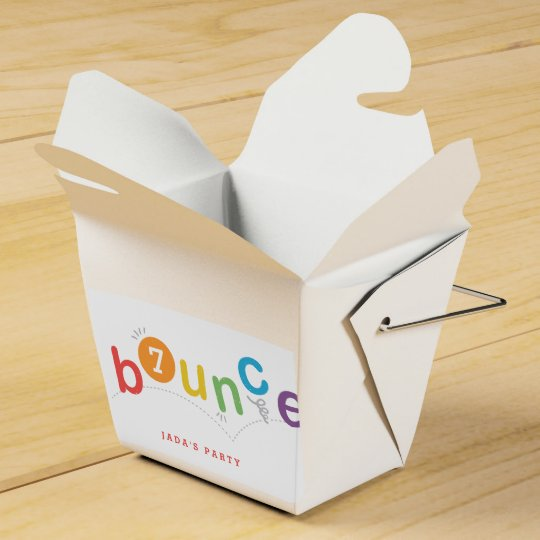 Kids party favour take out box favor boxes