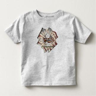 Kids Patriotic Bunny T Shirt
