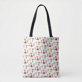 Kids Pattern Tote Bag
