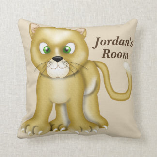 Kid's Pillow Cute Baby Lioness