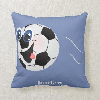 Kid's Pillow Cute Funny Soccer Ball