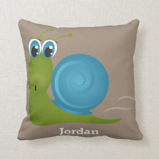 Kid's Pillow Cute Happy Snail