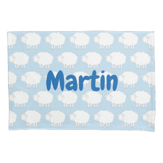 Kid's pillowcase with cute sheep pattern