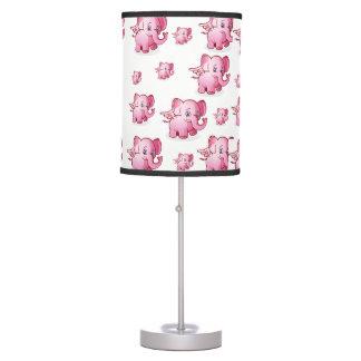 kids pink elephant white decorative lamp shade