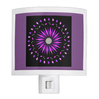 Kids Pink Purple Cosmic Neon Nightlight Nite Lites