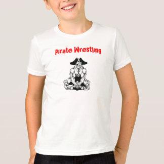Kids Pirate Wrestling T-Shirt