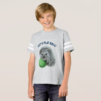Kids' Playful Hedgehog Football Shirt