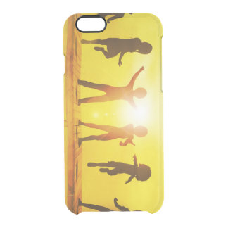 Kids Playing in the Summertime on a Pier Clear iPhone 6/6S Case