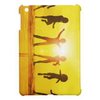 Kids Playing in the Summertime on a Pier iPad Mini Case