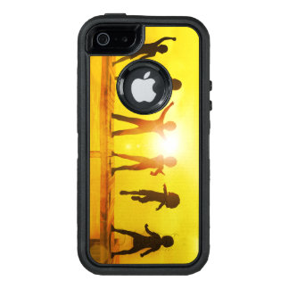 Kids Playing in the Summertime on a Pier OtterBox Defender iPhone Case