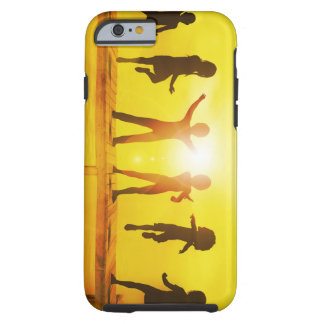 Kids Playing in the Summertime on a Pier Tough iPhone 6 Case