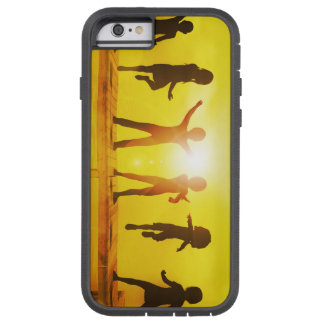 Kids Playing in the Summertime on a Pier Tough Xtreme iPhone 6 Case