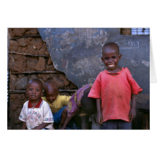 kids playing Kibera Card