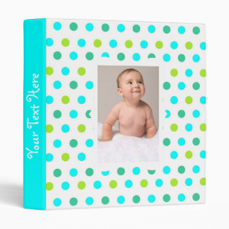 Kids Polka Dot Photo Album Binders