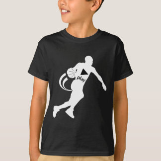 KIDS PUSH PLAY BASKETBALL T-SHIRT