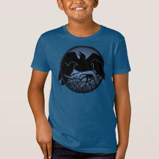 Kid's Raven Shirts Organic Raven Art Kid's T-shirt