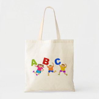 Kids Reading Writing Daycare Teaching Learning Tote Bag