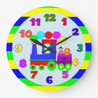 kids room,kids nursery large clock