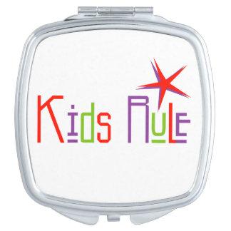 Kids Rule Compact mirror