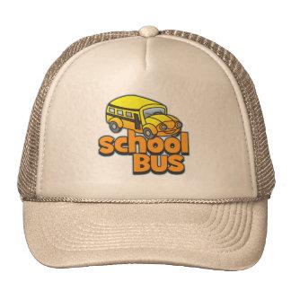 Kids School Bus Trucker Hat
