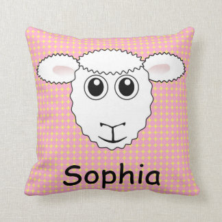 Kids Sheep Lamb Pillow