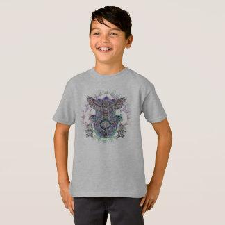 Kid's Shirt Tagless Spirit Owl Design