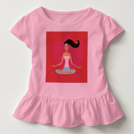 KIDS SHOP : yoga girl Toddler T-shirt