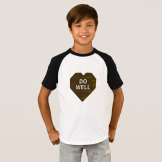 Kid's Short Sleeve Raglan T-Shirt