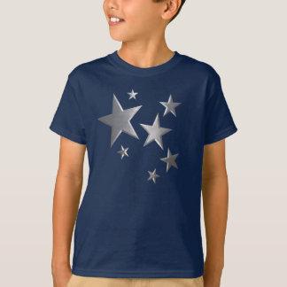 Kids Silver star fun t-shirt