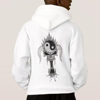 Kids skull hoodie