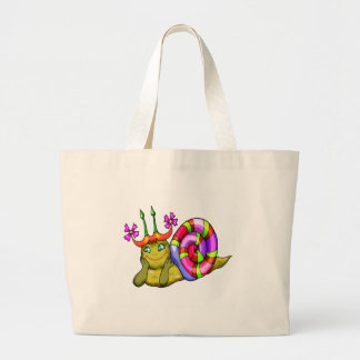 Kids Snail Tote Bag