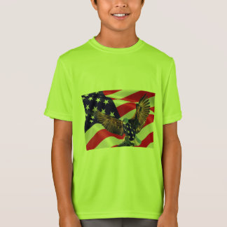 Kids' Sport-Tek Competitor or love usa  T-Shirt