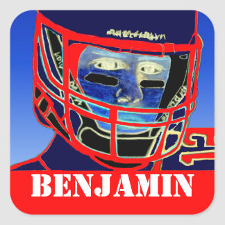 Kids Sports Personlized Football Stickers Gift