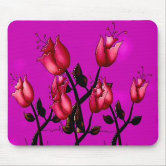 Kids Stuff  Flowers Adults Mouse Pad