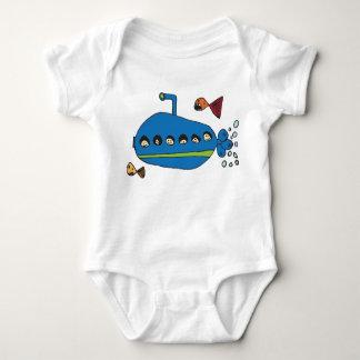 Kids Submarine Baby Bodysuit