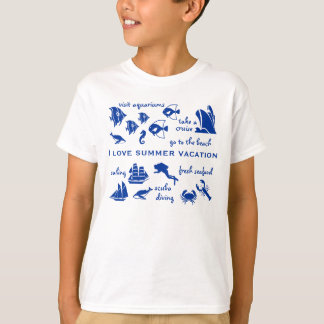 Kids summer vacation T-Shirt