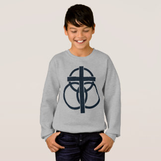 Kid's Sweatshirt: Modern Logo Sweatshirt