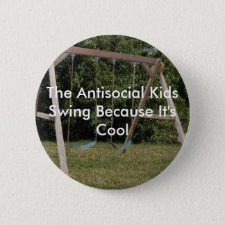 Kids Swing 2 Inch Round Button
